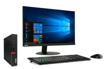 LENOVO ThinkCentre M720 Tiny i5-8400T, 8GB DDR4, 512GB SSD, KB/Mouse, Win10 Pro,