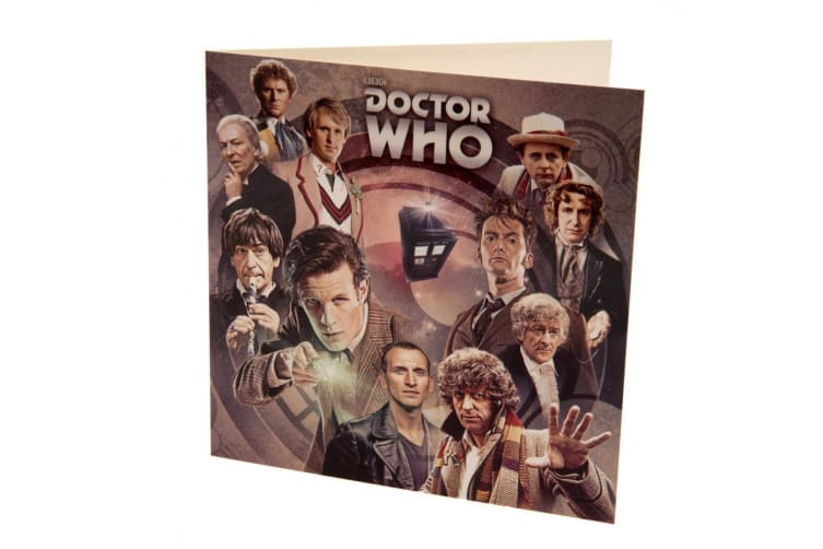 Doctor Who Blank Card (Multicoloured) (One Size)
