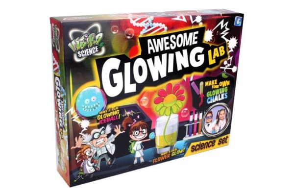 Grafix Weird Science Awesome Glowing Lab