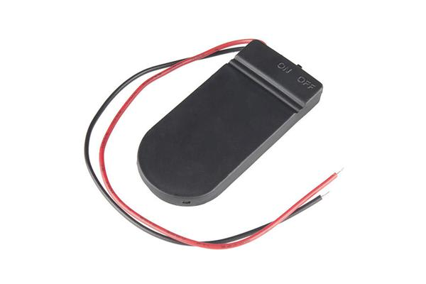 Coin Cell Battery Holder - 2xCR2032 (Enclosed)