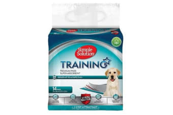 Simple Solution Puppy Training Pads (May Vary) (Pack Of 14)
