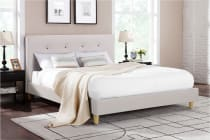 Ovela Bed Frame - Sonata Collection (Beige)