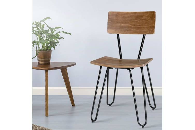 Prime Artiss X4 Ruth Dining Chairs Kitchen Living Room Bentwood Chair Timber Cafe Bralicious Painted Fabric Chair Ideas Braliciousco