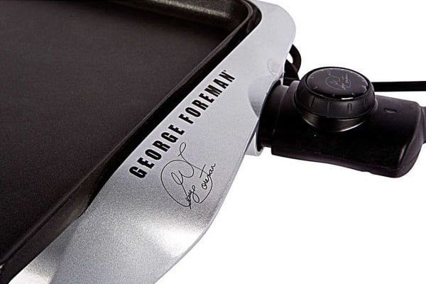 George Foreman Electric Griddle (GREG10)