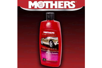 MOTHERS CALIFORNIA GOLD ULTIMATE WAX SYSTEM PURE POLISH MILD CUT PRE WAX CLEANER
