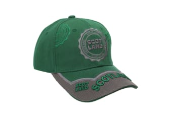 Scotland 6 Panel Unisex Adults Baseball Cap (Forest)