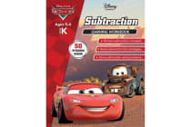 Disney Cars - Subtraction Learning Workbook