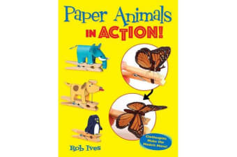 Paper Animals in Action! - Clothespins Make the Models Move!