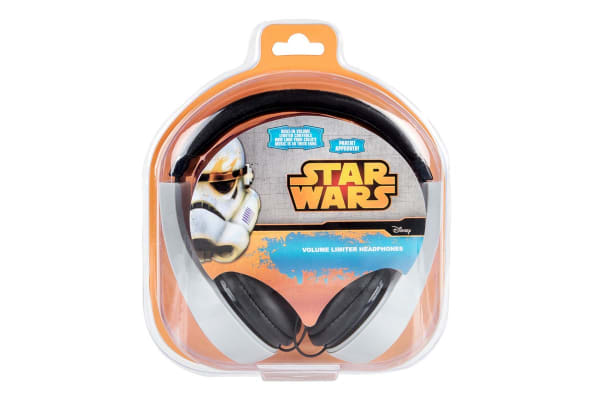 Darth Vader Kid Safe Headphones