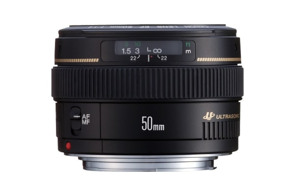 Canon EF 50mm f/1.4 USM Lens with 58mm Diameter to suit Lens Hood ES-71 II (EF5014U)