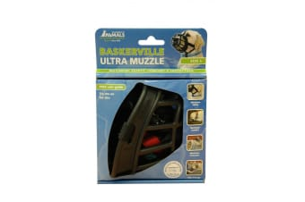 Baskerville Ultra Secure Dog Muzzle (Size 4) (May Vary)