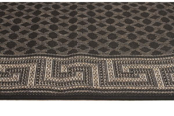 Night Indoor Outdoor Modern Black Rug 320X220cm