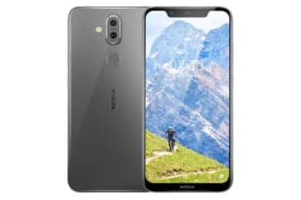 New Nokia 8.1 Dual SIM 64GB 4G LTE SmartPhone Iron (FREE DELIVERY + 1 YEAR AU WARRANTY)