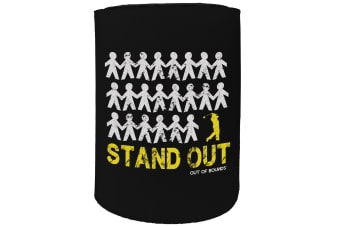 123t Stubby Holder - stand out - Funny Novelty