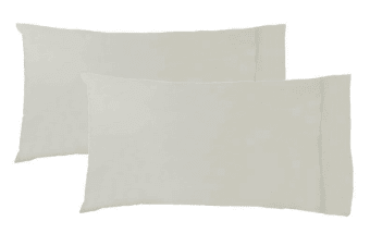 Pair of King Pillowcases LINEN by Logan and Mason