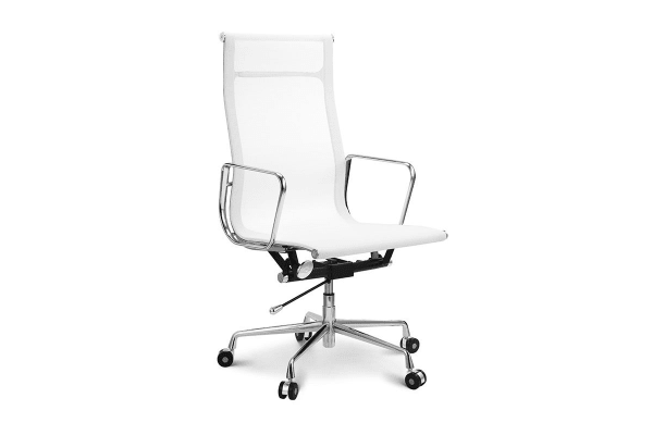 ovela executive eames replica high back mesh office chair white
