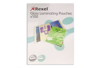 100pc Rexel A3 Laminating Pouches/Sheets 150 Micron f/Document/Photos Protection