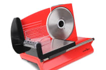 150W Meat Slicer with Stainless Steel Blade (Red)