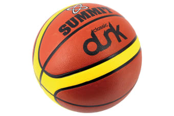 Summit Size 3 Classic Dunk Basketball Indoor/Outdoor Sport/Game Rubber Ball BRW
