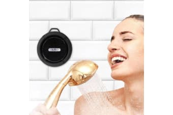 Wireless Bluetooth Shower Speaker & FM Radio