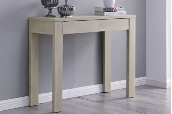 Shangri-La Desk with Drawers - Alta Collection (Dusky Oak)