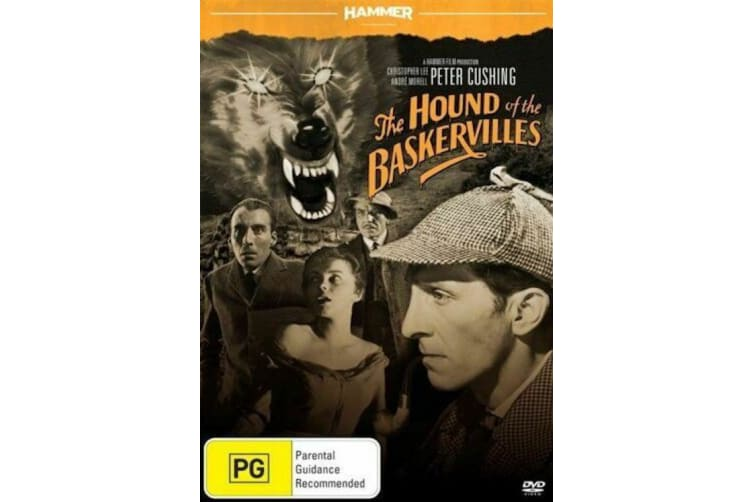 Hammer Horror: Hound Of The Baskervilles  - Rare- Aus Stock DVD  PREOWNED: DISC LIKE NEW