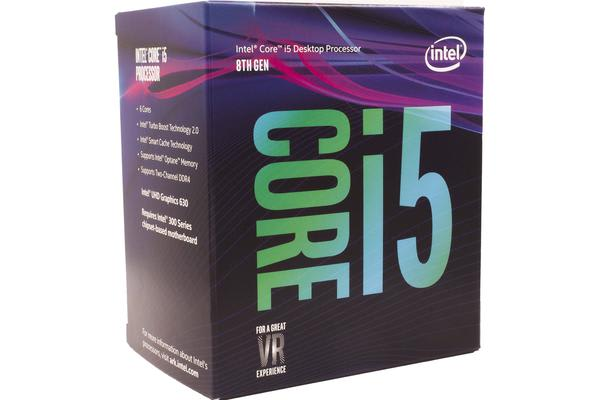 Intel Coffee Lake Core i5 8500 6 Core 3.0Ghz 9MB Cache