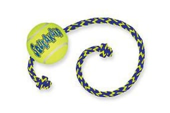 KONG Airdog Ball with Rope Dog Toy