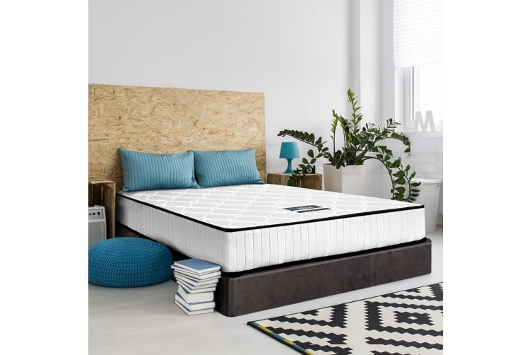 Giselle Bedding SINGLE Size Bed Mattress Pocket Spring Tight Top Foam 21CM