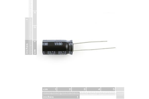 Electrolytic Decoupling Capacitors - 1000uF/25V