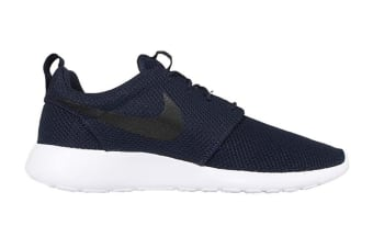 Nike Men's Roshe One Shoe (Navy/Black/White, Size 12)
