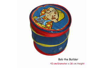 Pop Up Storage & Laundry Hamper Bob the Builder by Caprice by Caprice