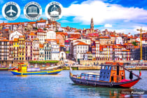 EUROPE: 16 Day Spain & Portugal River Cruise Package Including Flights for Two