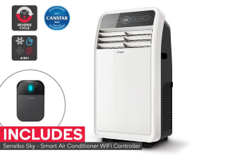 Kogan 14,000 BTU Portable Air Conditioner with Sensibo Smart Wi-Fi Remote