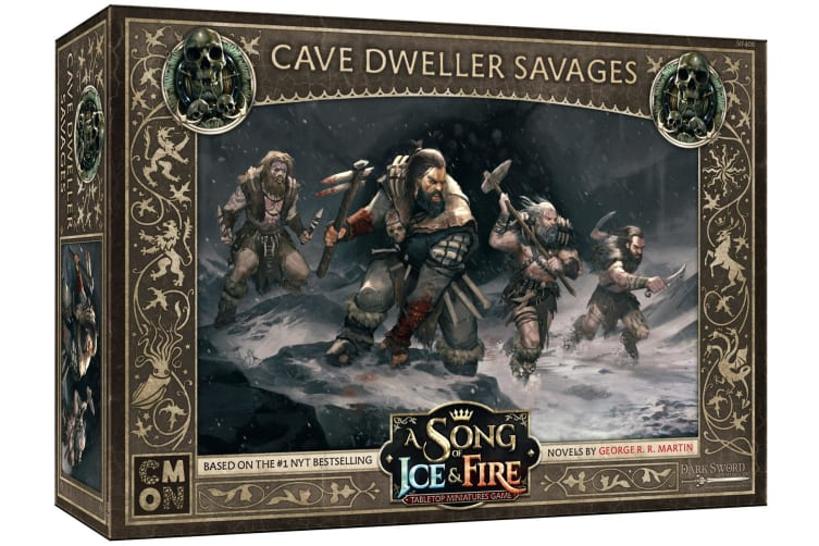 A Song of Ice and Fire TMG - Cave Dweller Savages