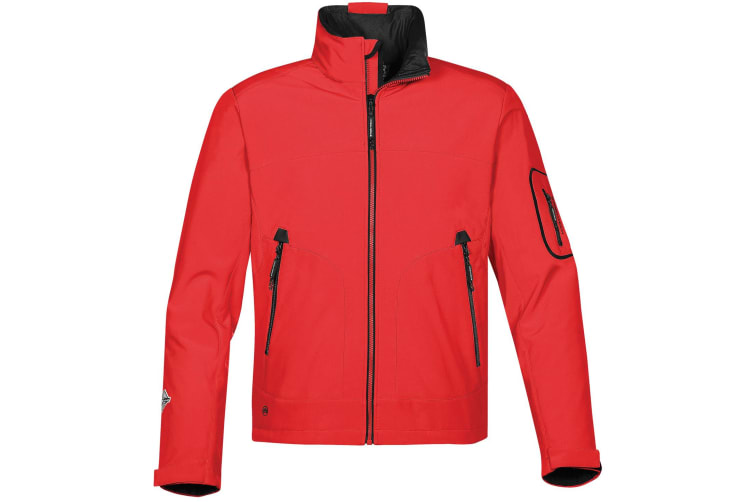 Stormtech Mens Cruise Softshell Jacket (True Red/ Black) (XL)