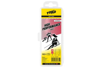 Toko Wax High Performance Hot Wax Red 120G