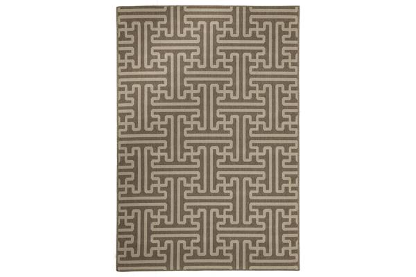 Seville Geo Natural Outdoor Rug 220X150cm