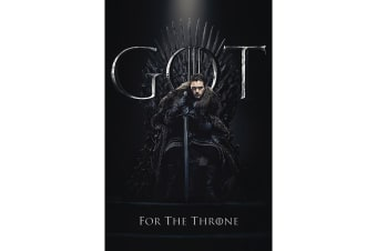 Game Of Thrones Jon Snow Poster (Multicoloured) (61cm x 91.5cm)