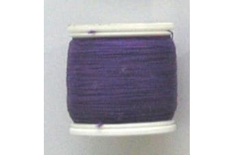 Seahorse 100 Yard Spool of Size A Rod Wrapping Thread - Rod Binding Cotton (Colour: Purple)