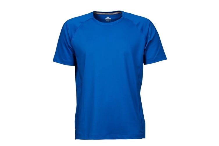 Tee Jays Mens Cool Dry Short Sleeve T-Shirt (Sky Diver) (M)