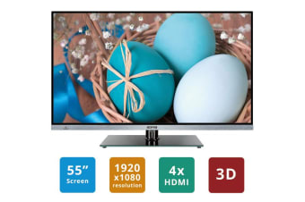 "SONIQ 55"" FHD 3D Smart Borderless LED TV E55S14A"