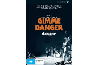 Gimme Danger DVD Region 4