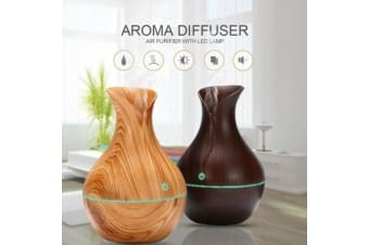 USB Ultrasonic Humidifier Essential Oil Aroma Diffuser LED Aromatherapy