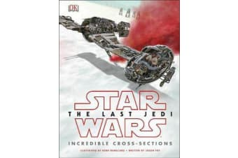 Star Wars The Last Jedi (TM) Incredible Cross Sections