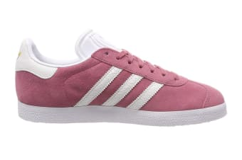 Adidas Originals Women's Gazelle Shoe (Maroon/White, Size 8 UK)