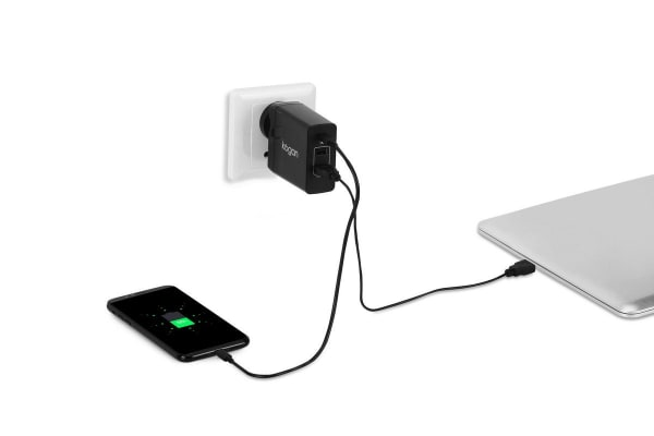 Kogan 45W 3 Port USB Charger (Type-C PD)