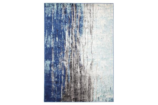 Transpose Blue Transitional Rug 290x200cm