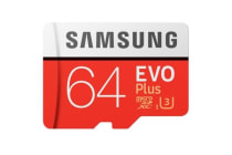 Samsung EVO PLUS 64GB Micro SD with Adapter
