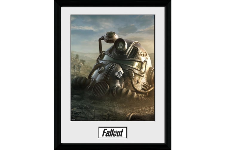 Fallout 76 T-51b Power Armor Poster (Multicolour) (One Size)
